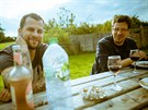 Skupina Chinaski nahrávala novou desku ve slavných studiích Rockfield ve Walesu.