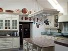 Kuchyň je podle návrhu arch. Moniky Vágnerové. Barvu a styl přizpůsobila...