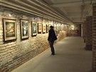 V suterénu Macho�ovy pasá�e v Pardubicích je instalována výstava fotografií Sáry a Jana Saudkových.