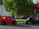 P�ehlídka historických aut