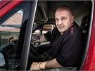 """Roman Šťastný, známý též jako """"DIESEL II."""", bývalý vězeň, dnes žije a pracuje"""