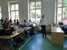Jakub Dusílek, člen představenstva a ředitel Global Banking Services UniCredit...