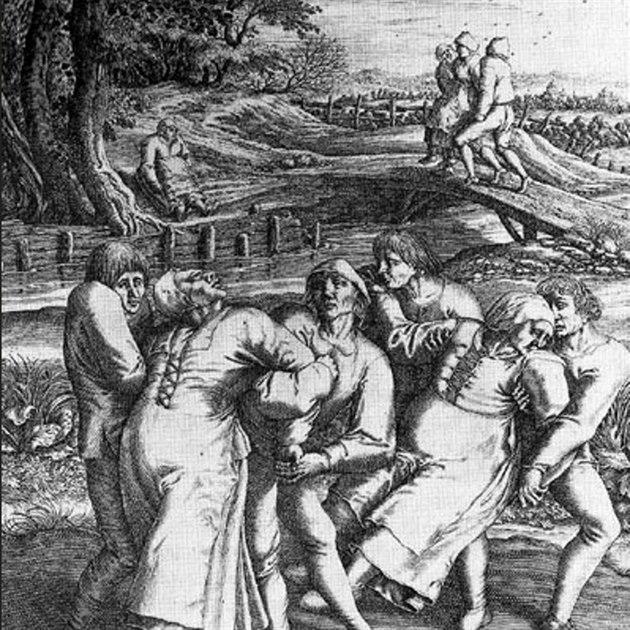 Tane�ní mor na obrazu kolem roku 1600