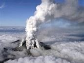 Výbuch japonské sopky Ontake (27. zá�í 2014).