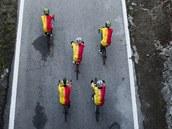 �pan�lská cyklistická armáda má na domácím mistrovství sv�ta v Ponferrad�