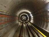Nová �ást linky A pra�ského metra je krátce p�ed dokon�ením, kompletn� hotova...