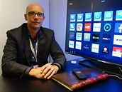 Albert Mombarg, šéf vývoje Smart TV u společnosti TP Vision.