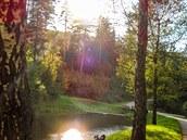 Rybník u Liduščina památníku