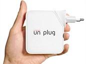 Malý Wi-Fi router Cyborg Unplug, který cíleně zamezuje přístupu vybraným...
