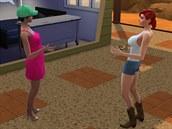D�le�itou sou��st� hry je interakce s ostatn�mi sim�ky.