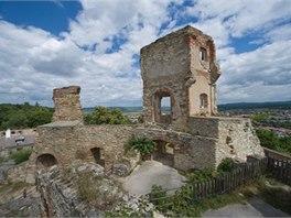 Z��cenina goticko-renesan�n�ho hradu Boskovice