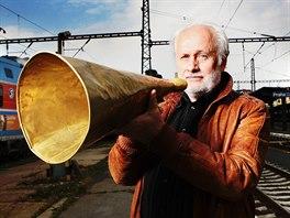 Hlas Václava Knopa mohou cestující slyšet na šedesáti až sedmdesáti...
