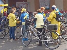 Společná cyklojízda Krnovem zvala na ferstival Zažít město jinak.