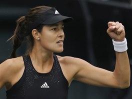 Ana Ivanovičová na turnaji v Tokiu.