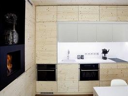 Freedomek je vyroben z 95 % ze dřeva. Vytápění domu je možné více způsoby od