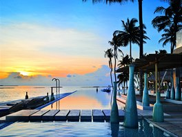 Hotelový resort Velaa Private Island Maldives patří mezi nejluxusnější na světě.