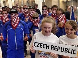 Čeští vodní slalomáři na MS.