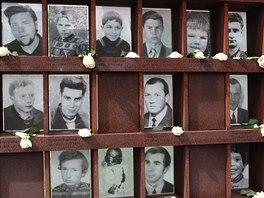 Galerie obětí je součástí Památníku v ulici Bernauer.