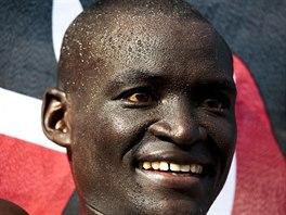 Dennis Kimetto, světový rekordman v maratonu