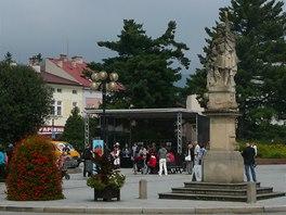 Centrum Rožnova pod Radhoštěm