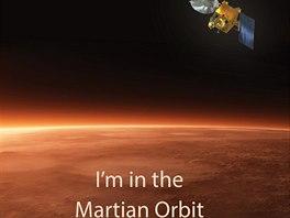 Indick� sonda Mangalj�n dorazila k Marsu.