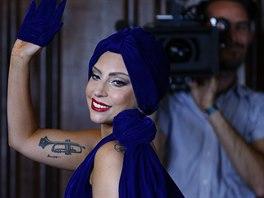 Lady Gaga (Brusel, 22. září 2014)