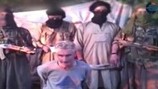Fotografie z videa zve�ejn�ného 24. zá�í 2014, kde byl zavra�d�n francouzský...