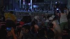 V Hongkongu demonstrovaly desítky tisíc lidí. Blokovaly finan�ní �tvr�