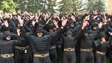 Kanad�tí Batmani jsou zapsáni v Guinnessov� knize rekord�.