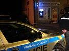 Neznámý pachatel přepadl bankomat České spořitelny ve Štěchovicích (30. září...