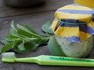 zubn� pasta, p��prava, Margit