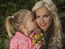 Kate�ina Kristelov� s dcerou