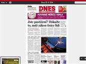 Digitální vydání MF DNES