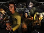 Záb�r ze seriálu Star Wars Povstalci