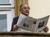 N�kdej�í n�mecký ministr zahrani�í Hans-Dietrich Genscher po 25 letech zavítal...