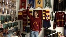 Mexi�an Asher Silvia Vargas má nejv�t�í sbírku p�edm�t� o Harrym Potterovi na...
