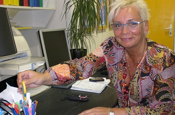 Lenka Halamov� � mana�erka spole�nosti