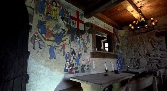 V románském sále se pořádají soukromé akce.