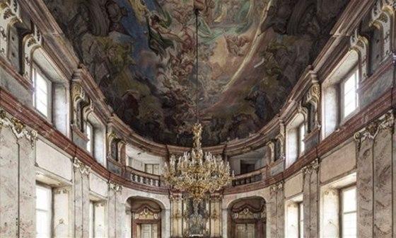 P�sobiv� interi�ry Colloredo-Mansfeldsk�ho pal�ce se prom�n� na Art House