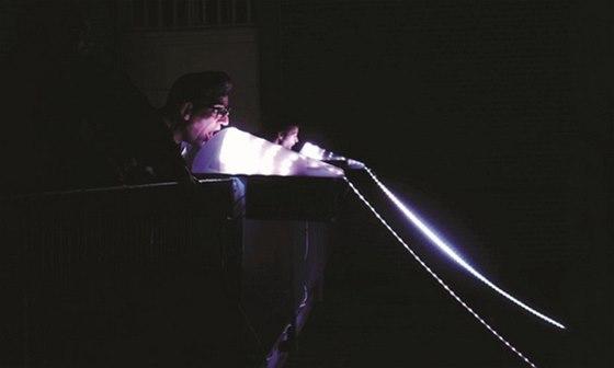 Sv�telnou instalaci MURMUR na Starom�stsk� mosteck� v�i budete moci ovl�dat
