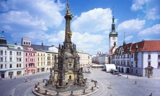 Olomoucký sloup Nejsvětější Trojice je zařazen na seznamu světového dědictví