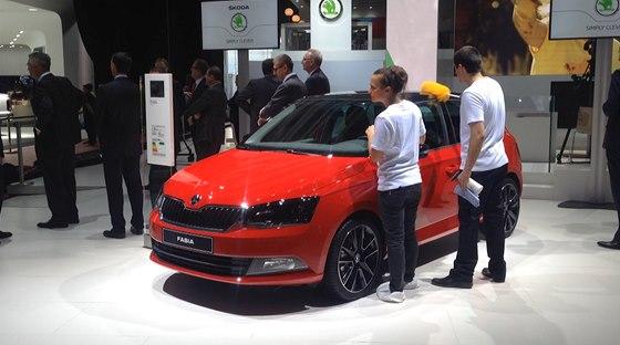 Nová Škoda Fabia na autosalonu v Paříži 1