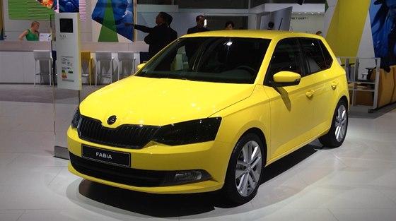 Nová Škoda Fabia na autosalonu v Paříži 3