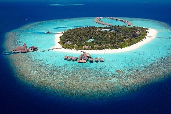 Anantara Kihavah � Baa Atol (Maledivy)