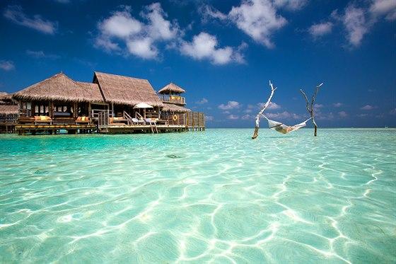 Gili Lankanfushi � Severn� atol Male (Maledivy)