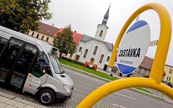 Městská hromadná doprava v Třebechovicích pod Orebem zahájila zkušební provoz...