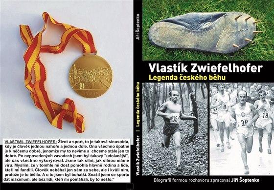 Kniha o legendě českého běhu: Vlastík Zwiefelhofer