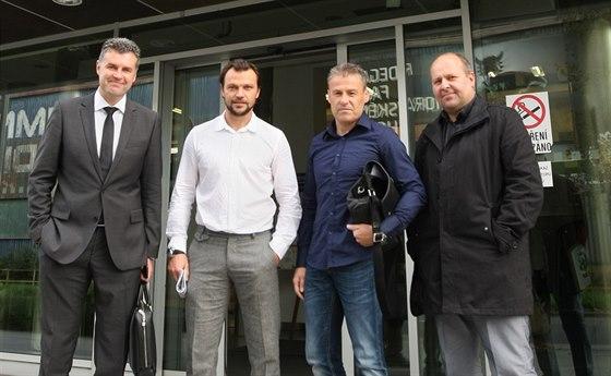 Autoři výzvy na pomoc fotbalové Olomouci, včetně klubové legendy Tomáš...