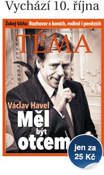 Časopis TÉMA vychází v pátek 10. října