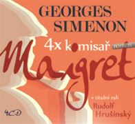 Maigret (obal audioknihy)